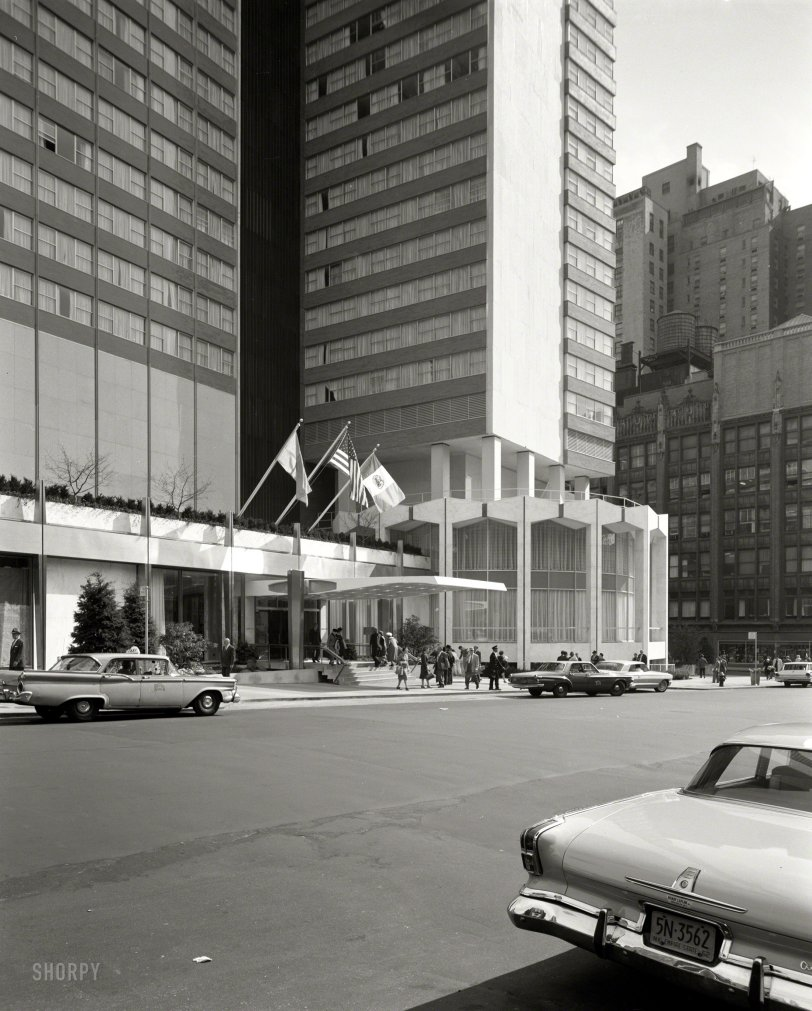 Americana Hotel 1962 Shorpy 1 Old Photos