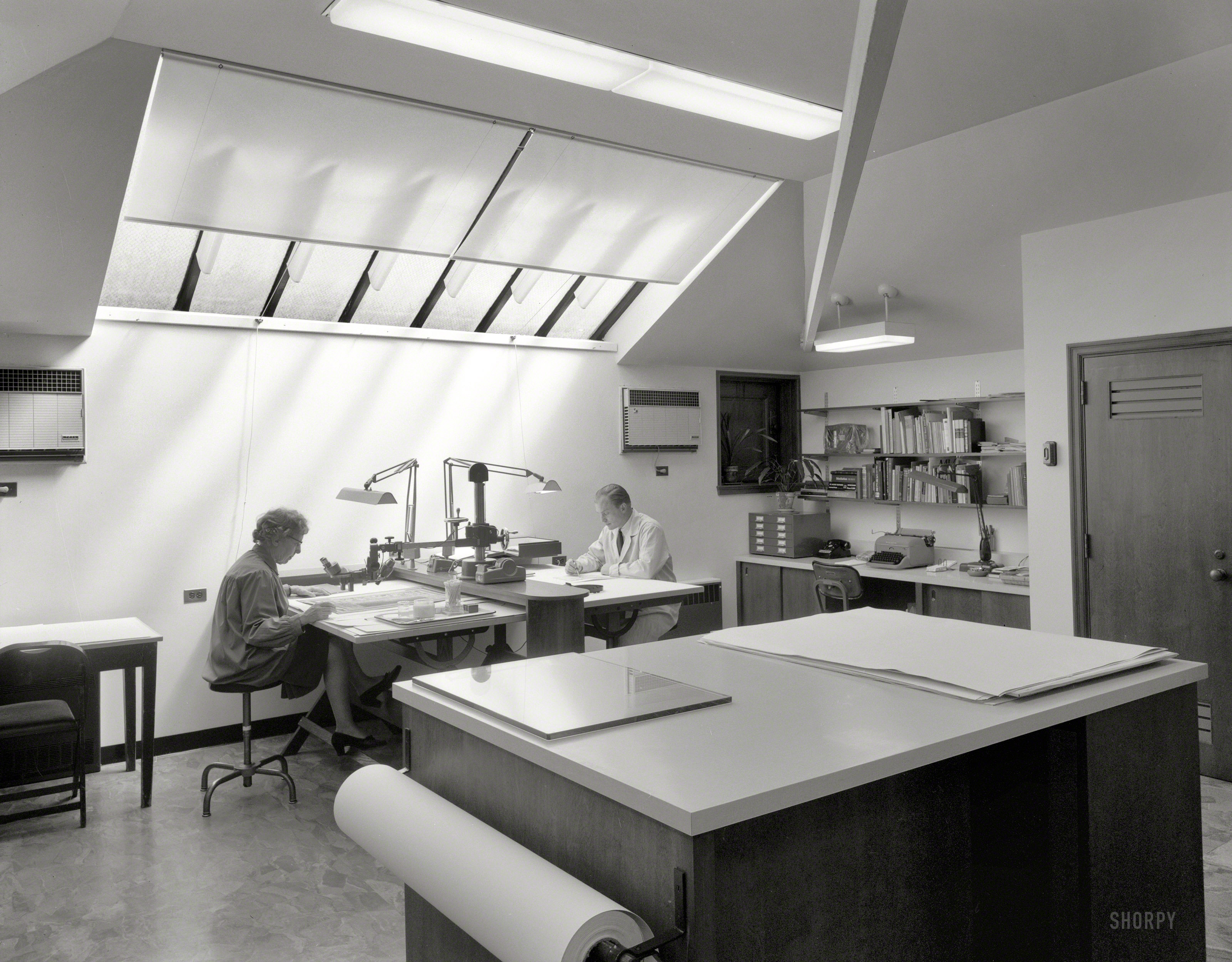 shorpy historic picture archive conservation room 1963