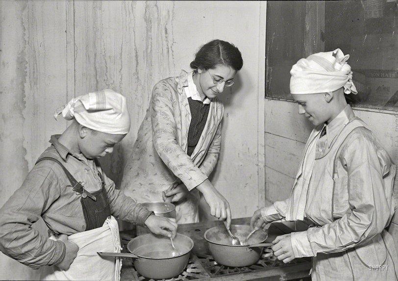 Shack Chefs: 1936