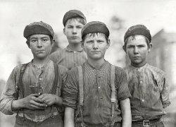 Some Doffer Boys: 1909