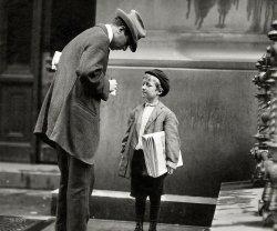 The Sickly Newsie: 1910