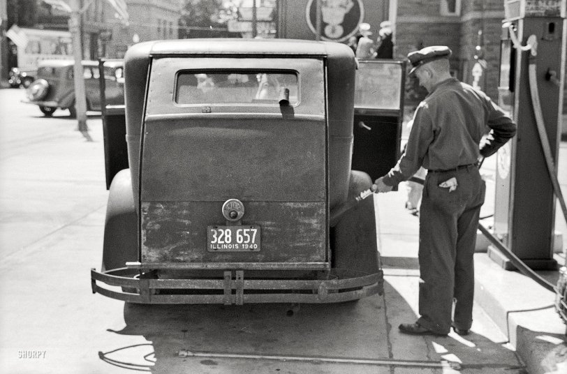 Fill Er Up: 1940
