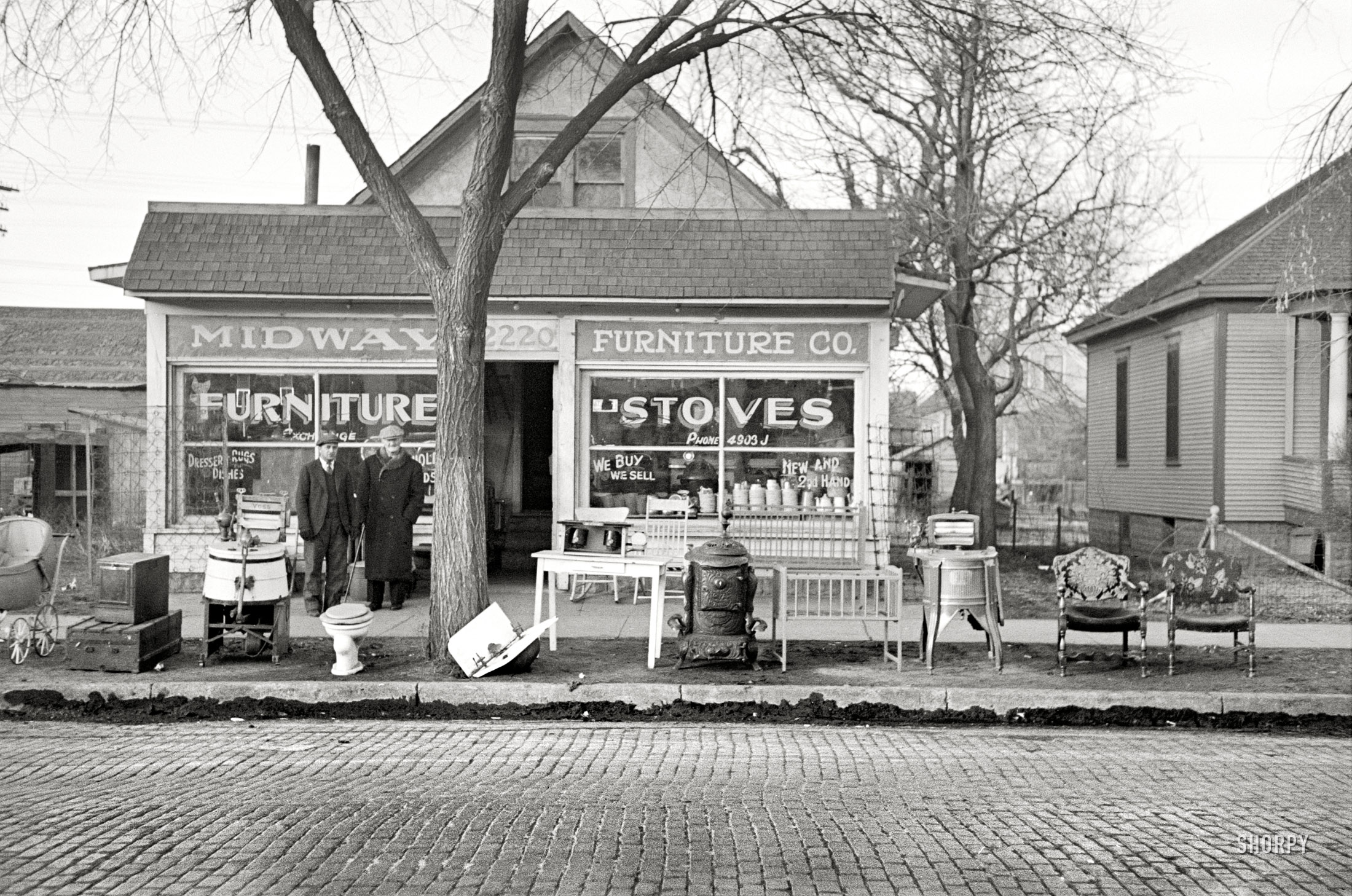 Shorpy Historic Picture Archive Midway Furniture 1936