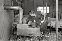 Stovepipe Hut: 1938