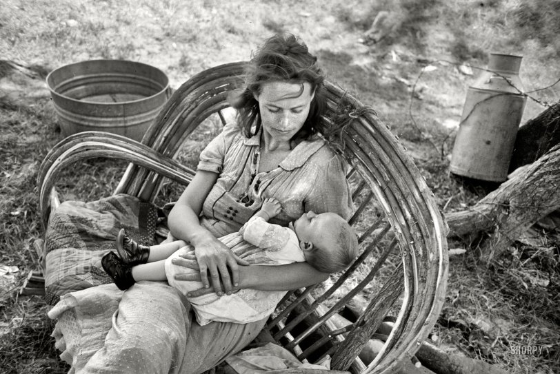 Migrant Madonna: 1939