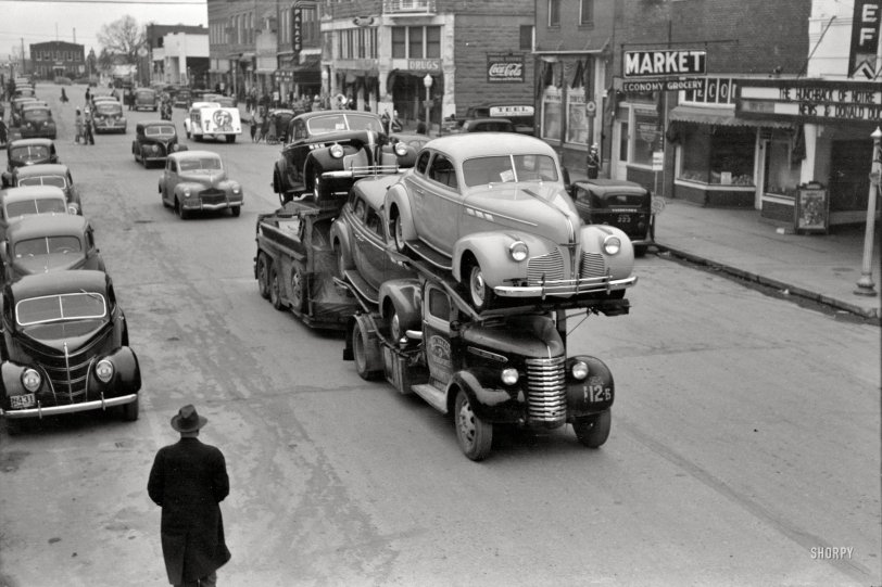 Here Come the Cars: 1940