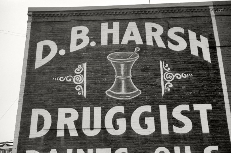 Harsh Druggist: 1940