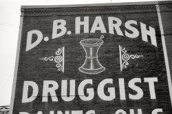 Harsh Druggist: 1940