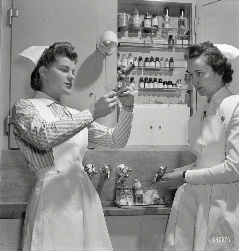 Nurse Needles: 1942