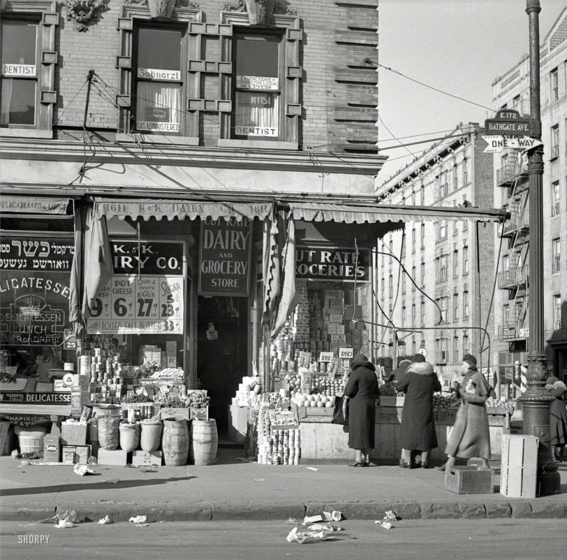 Cut Rate Groceries: 1936