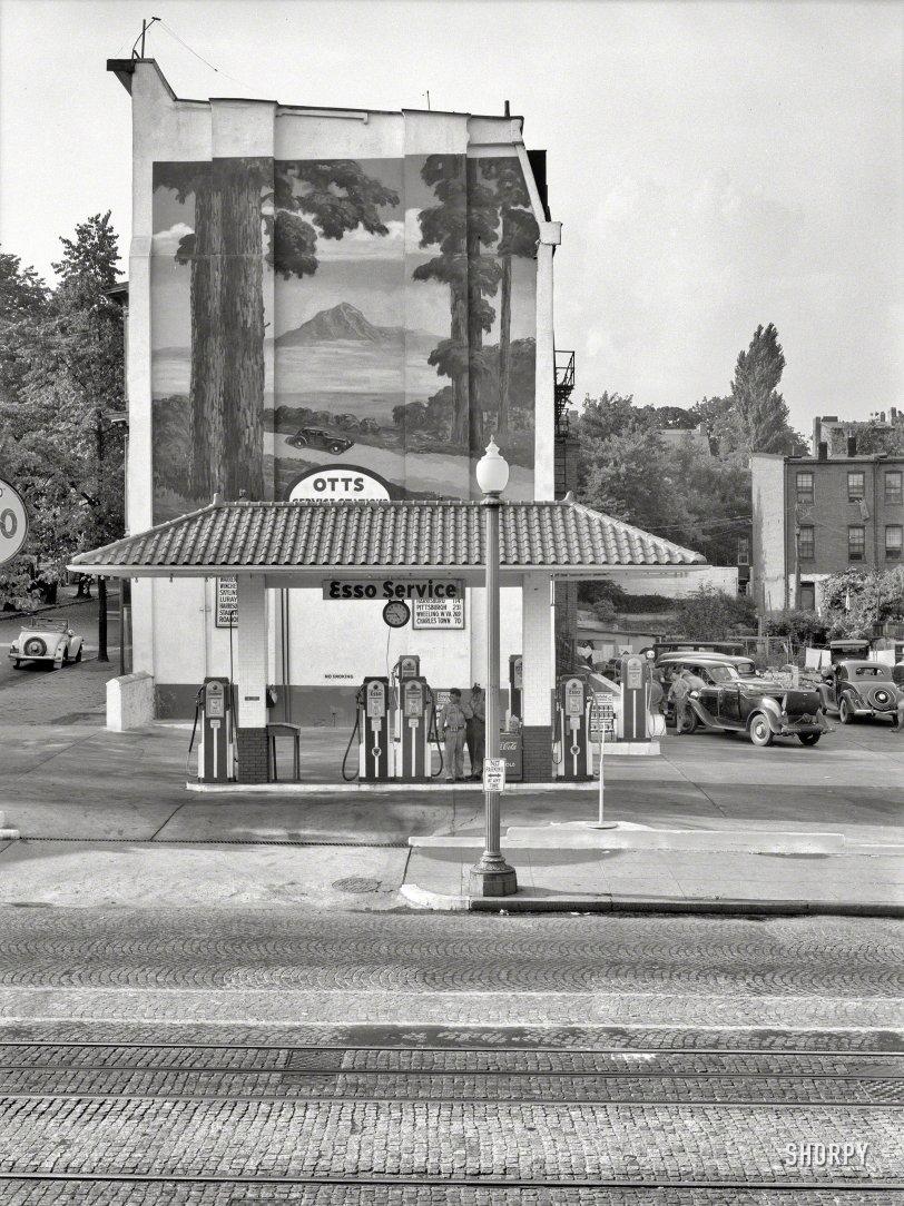 Ott's Esso Arboretum: 1937