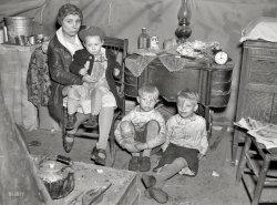 Flood Refugees: 1937