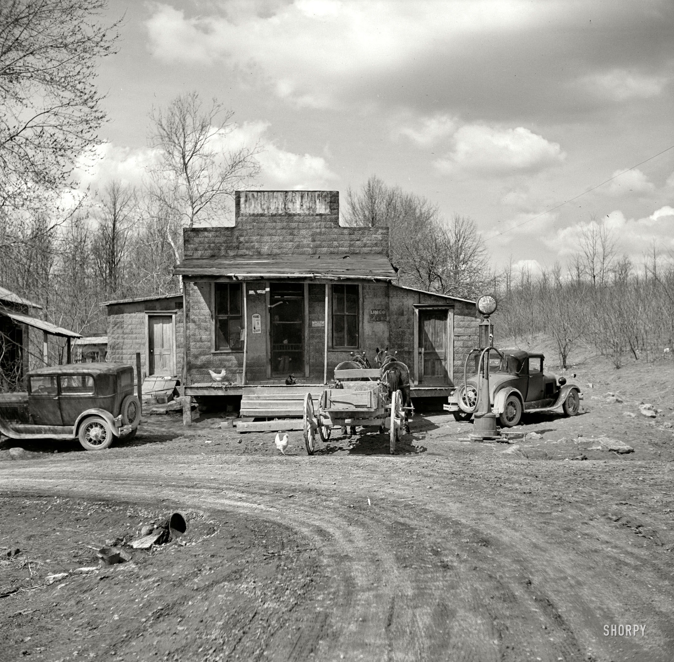 Indiana martin county shoals - Shorpy Historic Picture Archive Buttermilk Junction 1937 High Resolution Photo