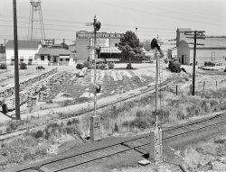 Approaching Fresno: 1939