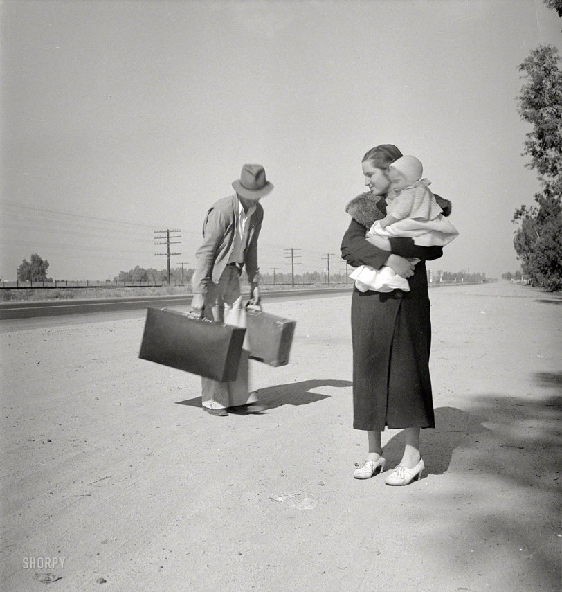 Young Family, Penniless: 1936