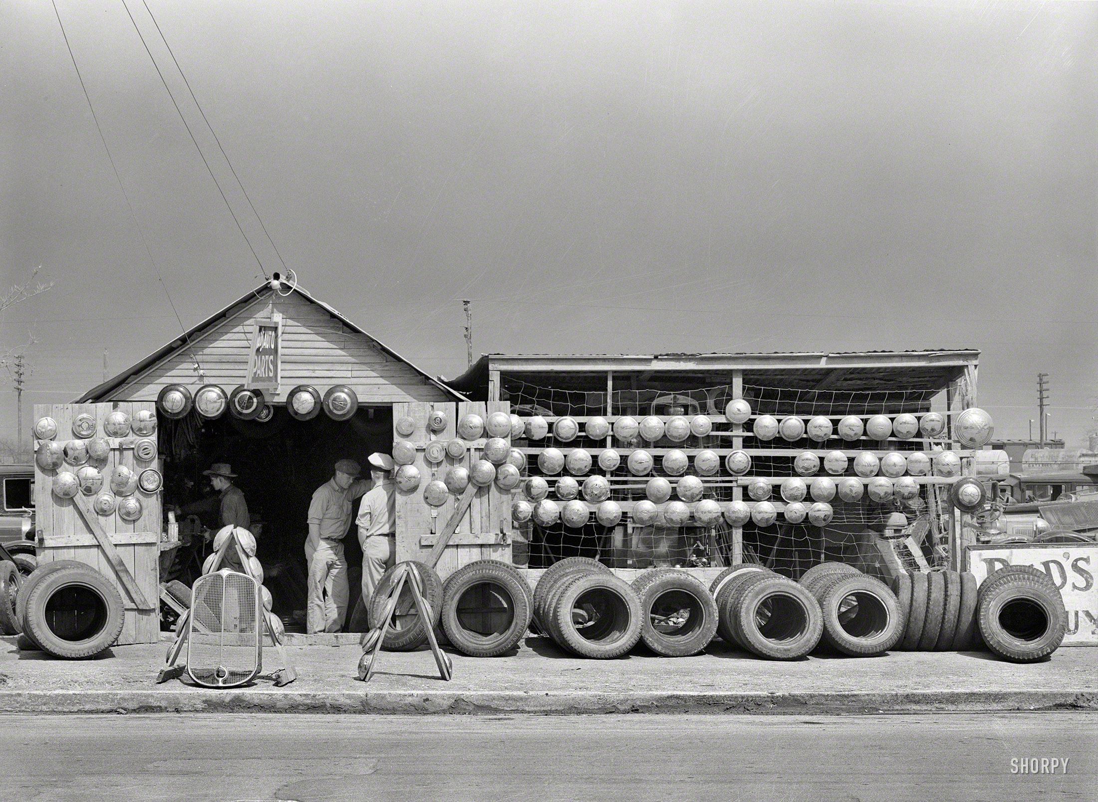 Shorpy Historic Picture Archive Hubcap Heaven 1939 High