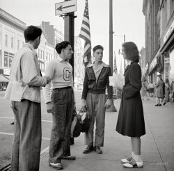 Sidewalk Symposium: 1941