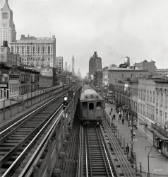Third Avenue El: 1942