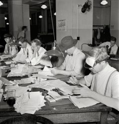 Eyeshade Brigade: 1942