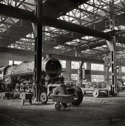 Locomotive Makeover: 1942