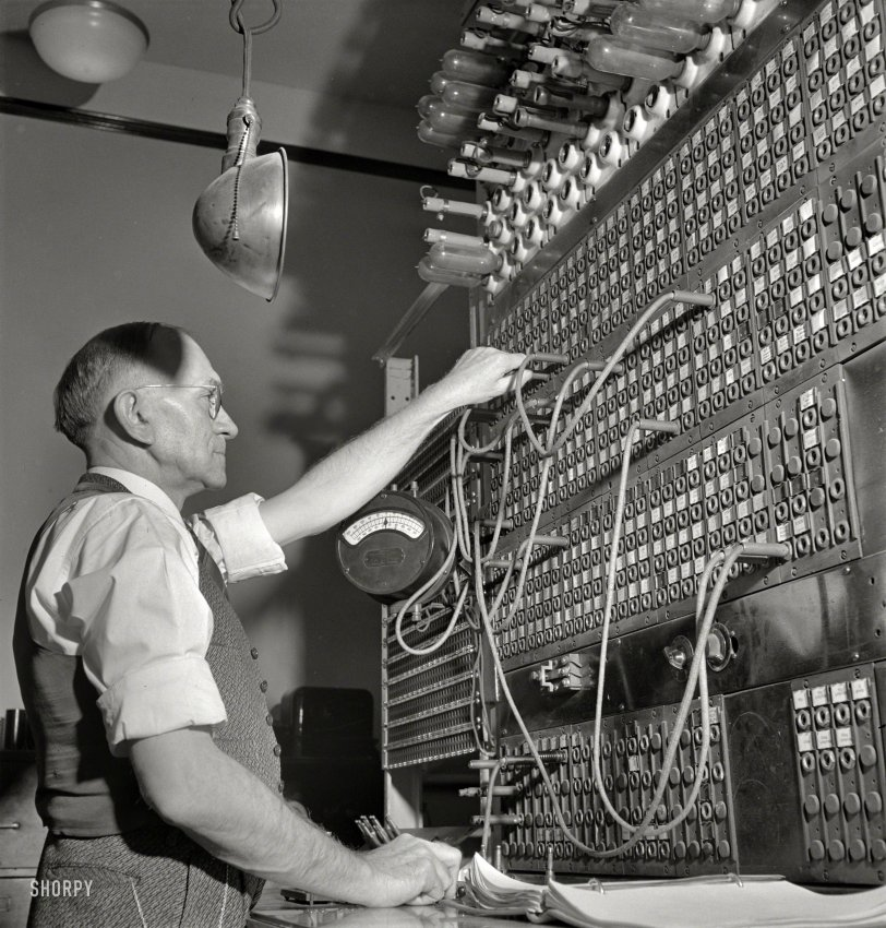 Telegraph Switchboard: 1943