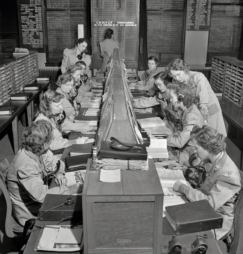 The Information Room: 1943