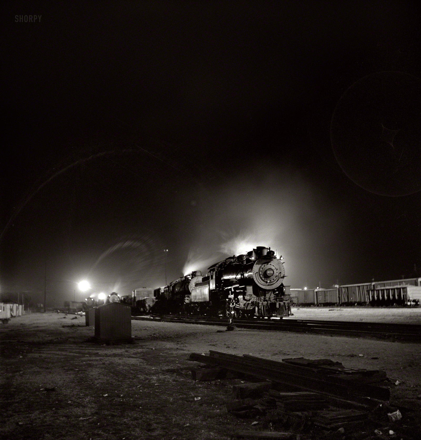shorpy historic picture archive night train 1943 high resolution