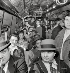 Crowded Commute: 1943