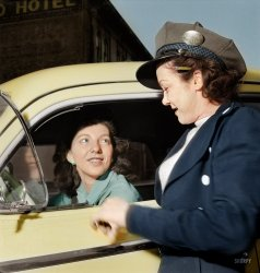 Abby the Cabby (Colorized): 1942
