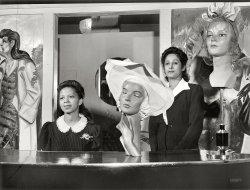 Minnie and Selma: 1942