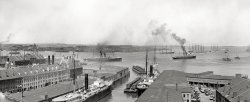 Boston Harbor: 1906
