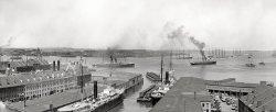 Boston Harbor: 1906
