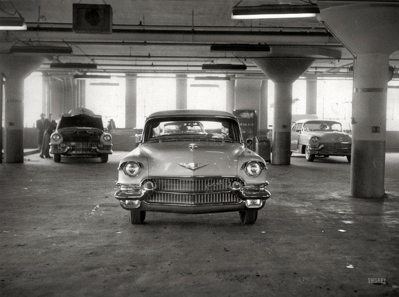 Cadillac Garage: 1955