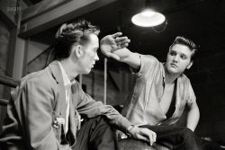 Backstage With Elvis: 1956