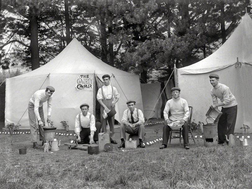 Gaiety Camp: 1910