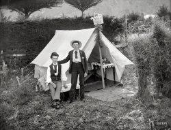 Violet Camp: 1905