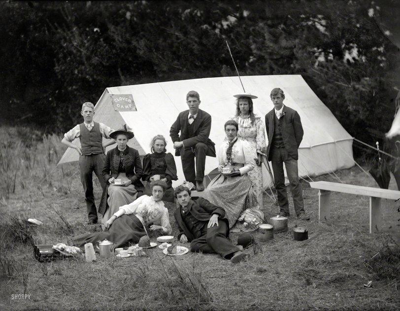 Clover Camp: 1905