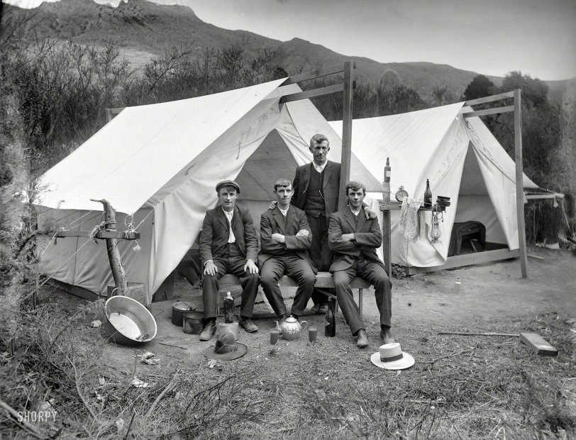 All the Comforts of Home: 1915