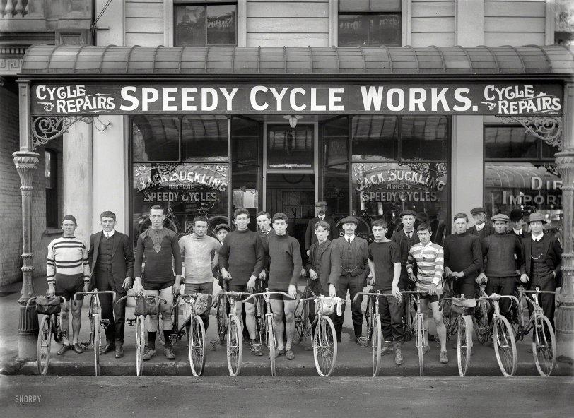 Speedy Cyclists: 1913