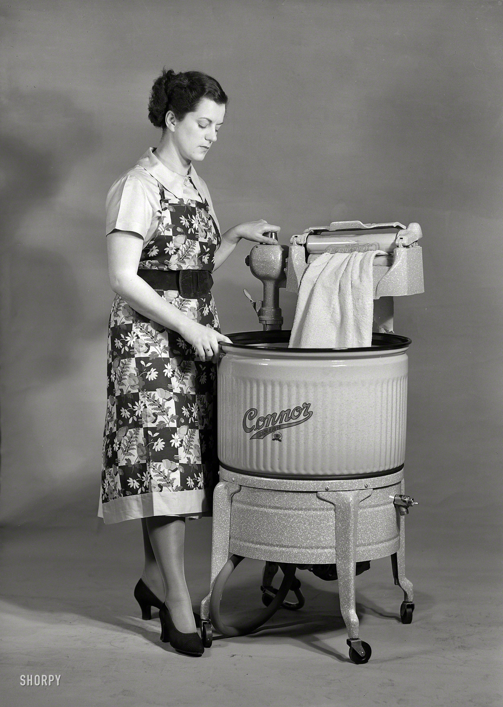 Through The Wringer 1950 Connor Washing Machine