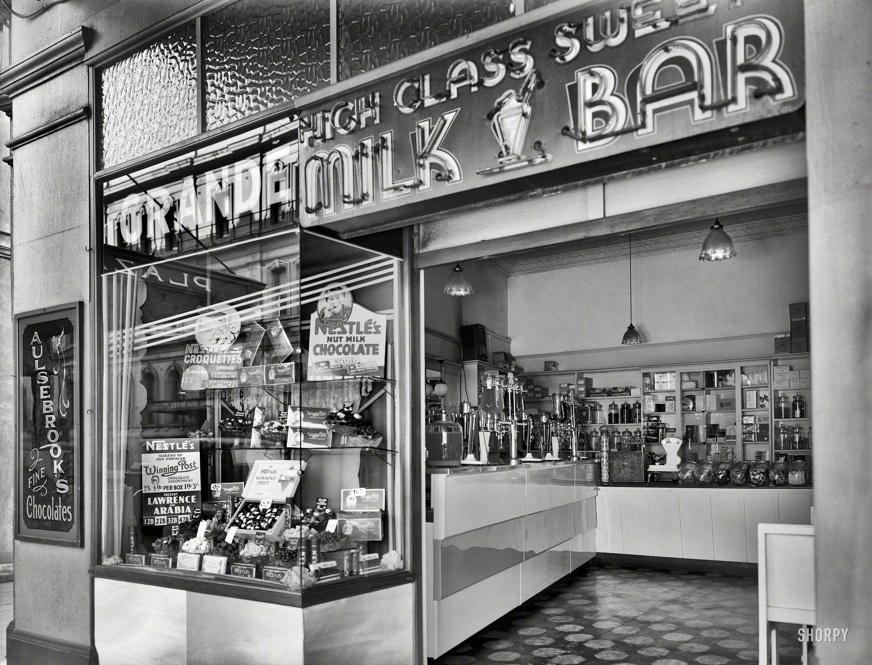 Old Fashioned Milk Bar
