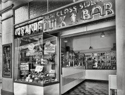 High Class Milk Bar: 1935