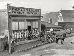 Family Butcher: 1910