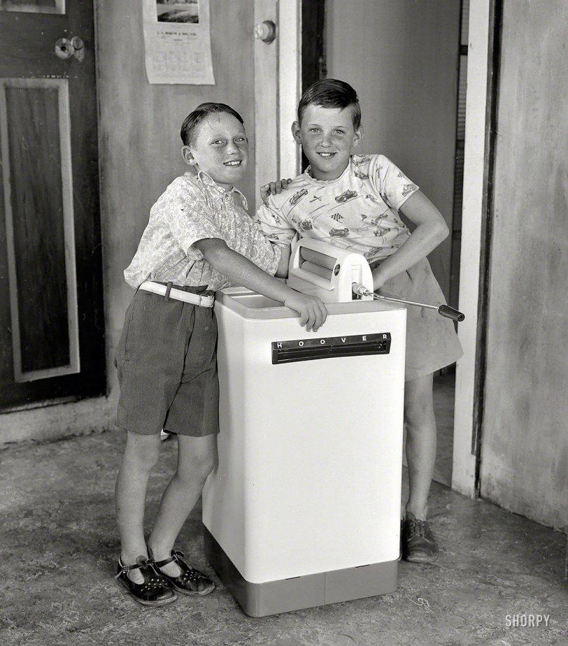 The Clean Team: 1956