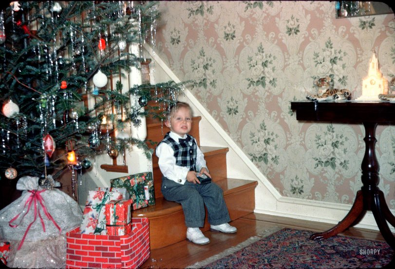 The Christmas Kid 1958 Shorpy Old Photos Poster Art