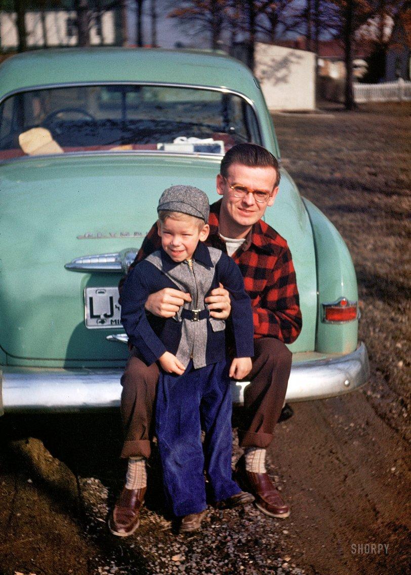 Plaid Dad: 1952
