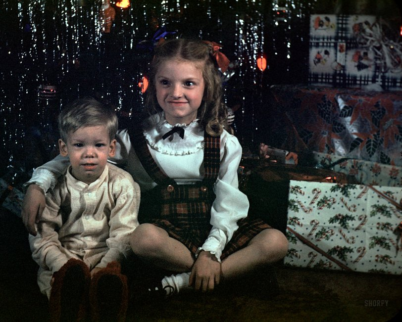 Christmas Cousins: 1948