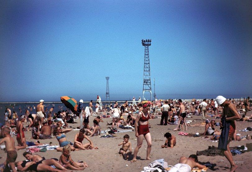 Montrose Beach: 1946