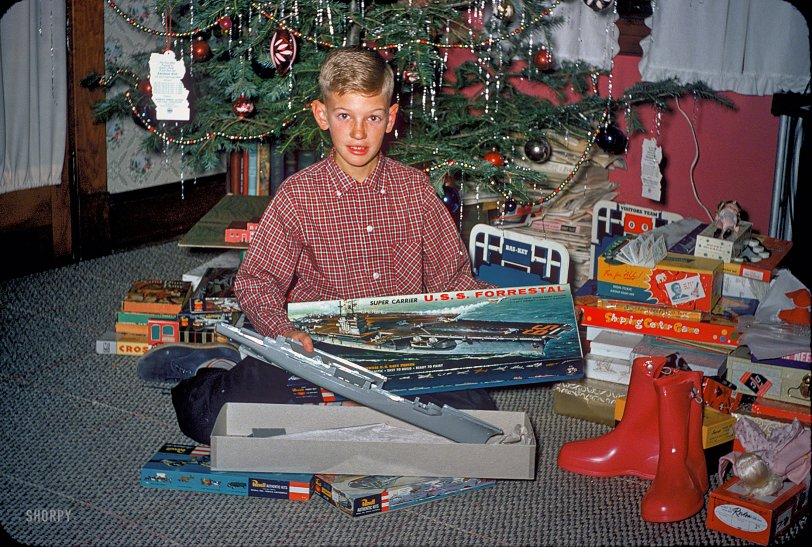 Super Carrier Christmas: 1957