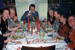 Christmas Dinner: 1950s